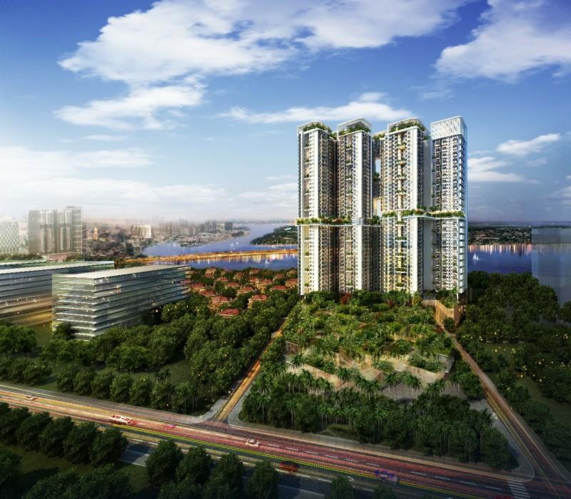 金边配套最齐全的项目-首都国金Urban Village