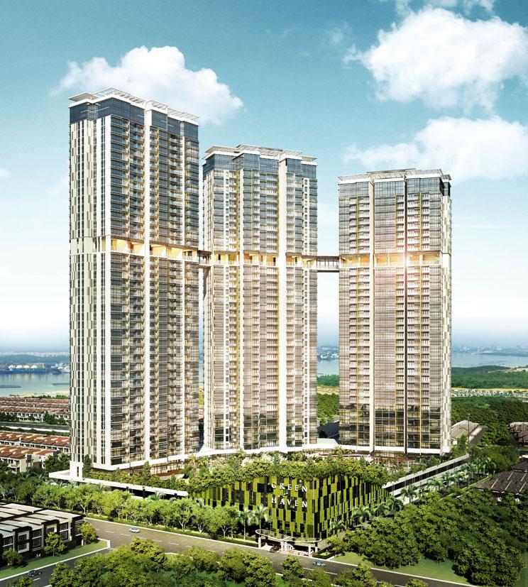 马来西亚新山公寓现房-Green Haven-绝对实惠价格
