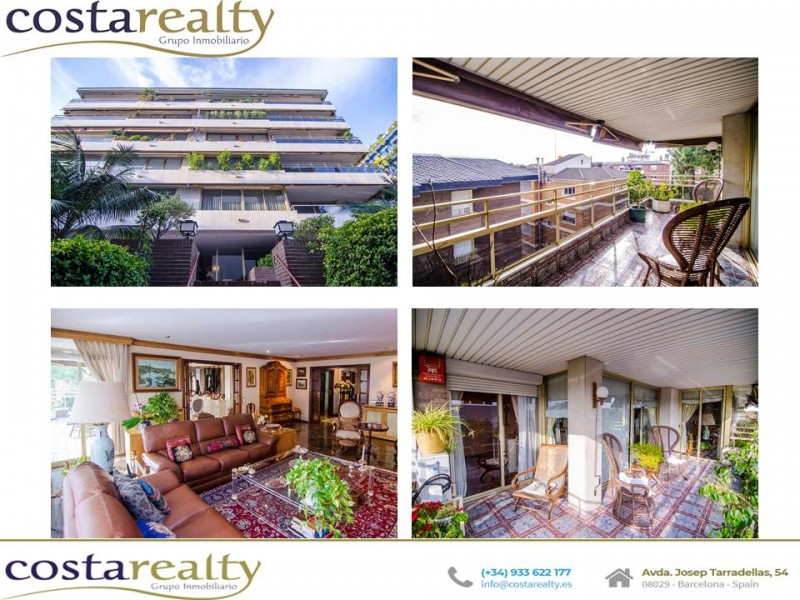 巴塞罗那富人区高档公寓 带阳台