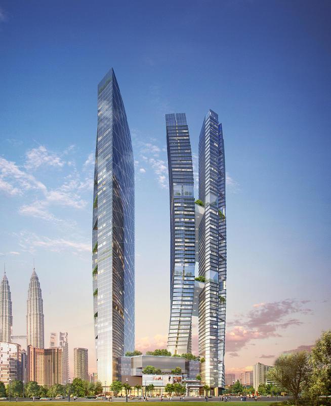 吉隆坡8Conlay高级公寓(3房)