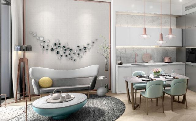 吉隆坡8Conlay高级公寓(1卧室1卫浴)