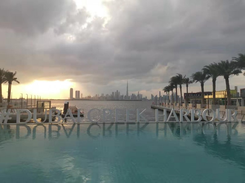 Dubai Creek Harbour 云溪港,迪拜新市中心