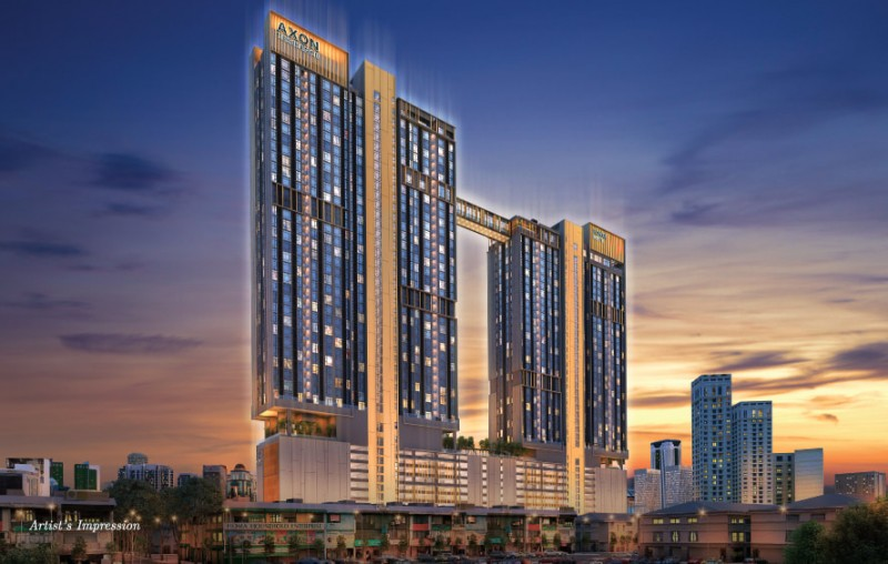 马来西亚吉隆坡Axon公寓-周边设施齐全且价格实惠公寓