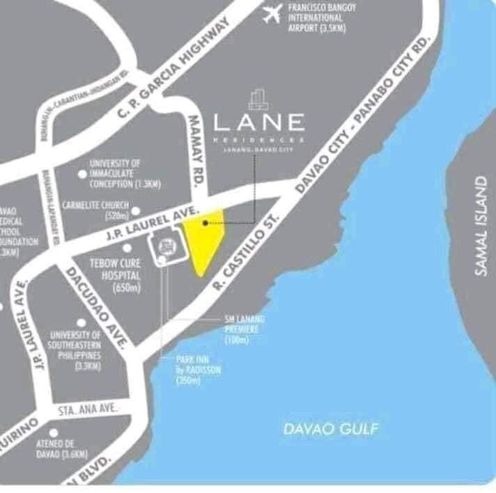 达沃最具升值潜力的项目Lane Residences,编号41656