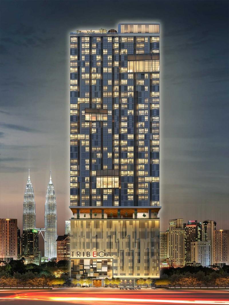 马来西亚吉隆坡武吉免登区翠贝卡公寓 (Tribeca)