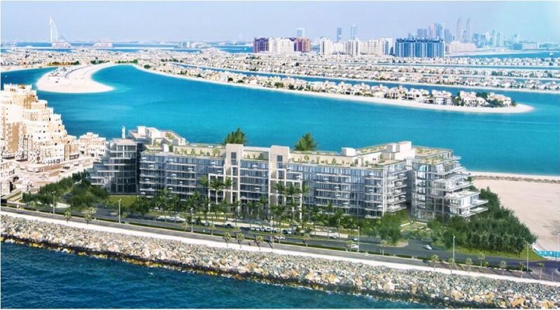 迪拜棕榈岛海景公寓:和名流为邻