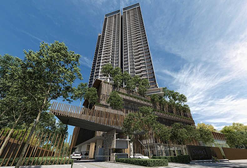 马来西亚KLCC高性价比日系奢华公寓—史丹诺三号 精装现房