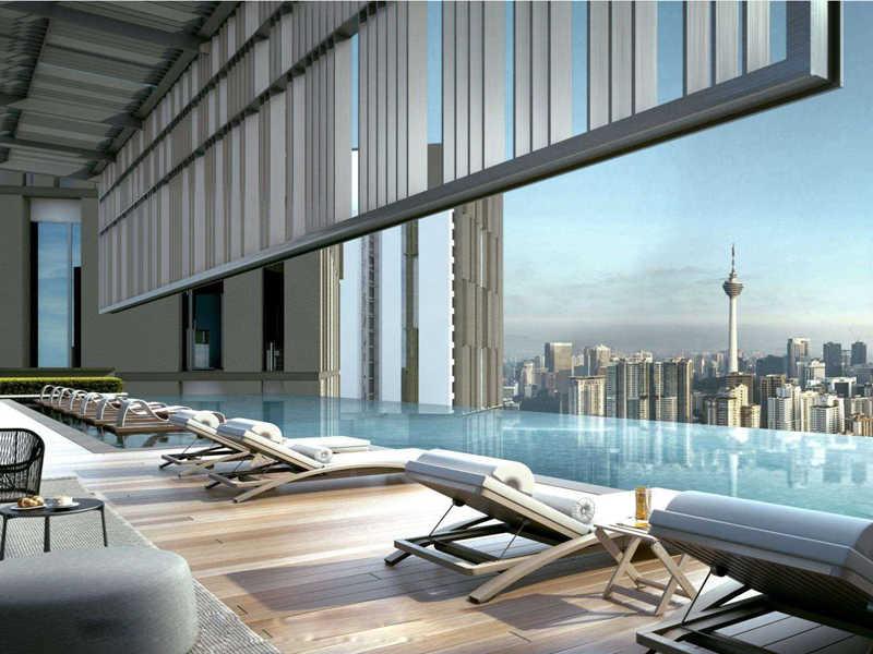 吉隆坡BBCC Lucentia 商务中心高档公寓,编号41910