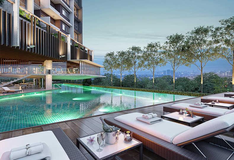 吉隆坡 日系奢华公寓 史丹诺三号 高性价比 准现房