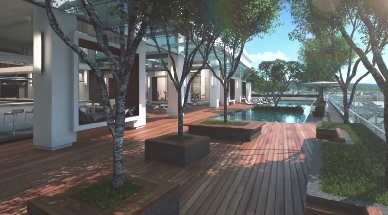 吉隆坡桂和公寓Quill Residences(2房),编号41947