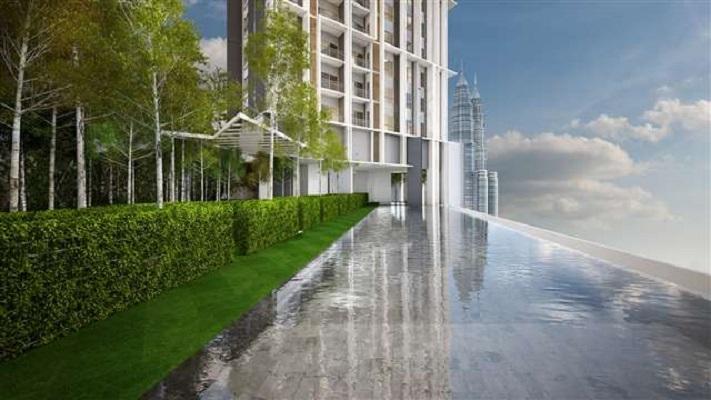 吉隆坡The Mews典雅豪华公寓(2+1房)