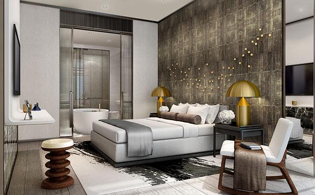 吉隆坡8Conlay品牌高级公寓(2卧室2卫浴)