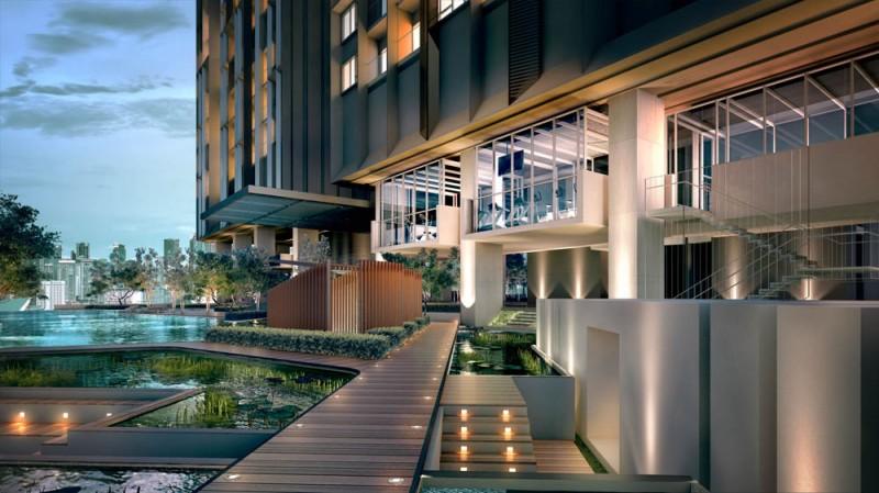 吉隆坡武吉免登城市中心公寓Lucentia(2卧室)