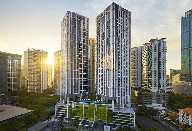 马来西亚吉隆坡 The Mews 距双子塔400米 现房