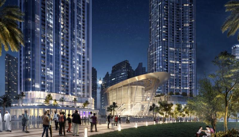 迪拜楼王:伊玛尔市中心格兰德大厦Grande,编号42506