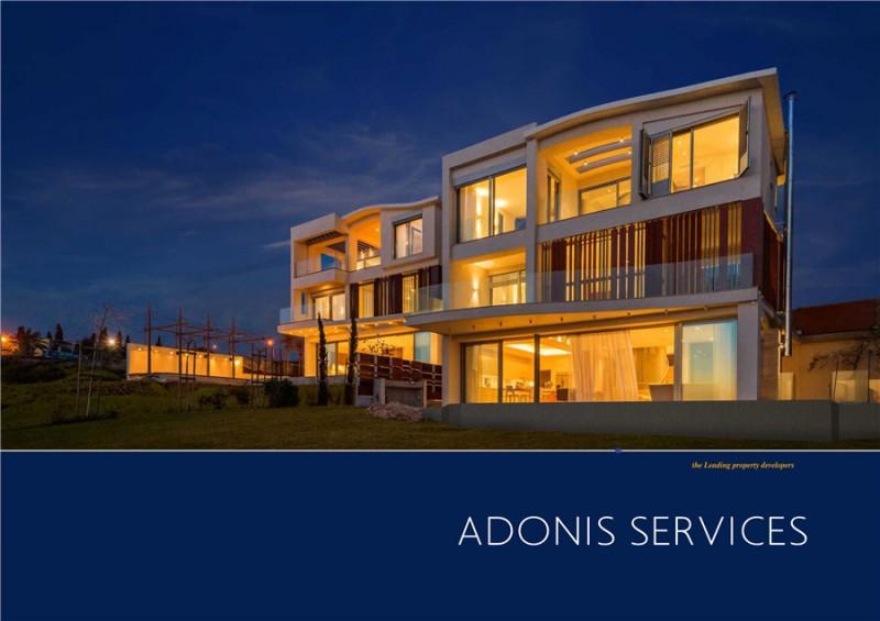 帕福斯ADONIS一线海景别墅