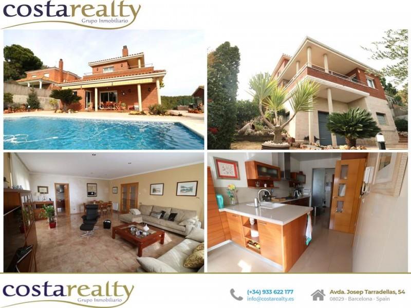 巴塞罗那独立别墅含私人泳池 08758.1