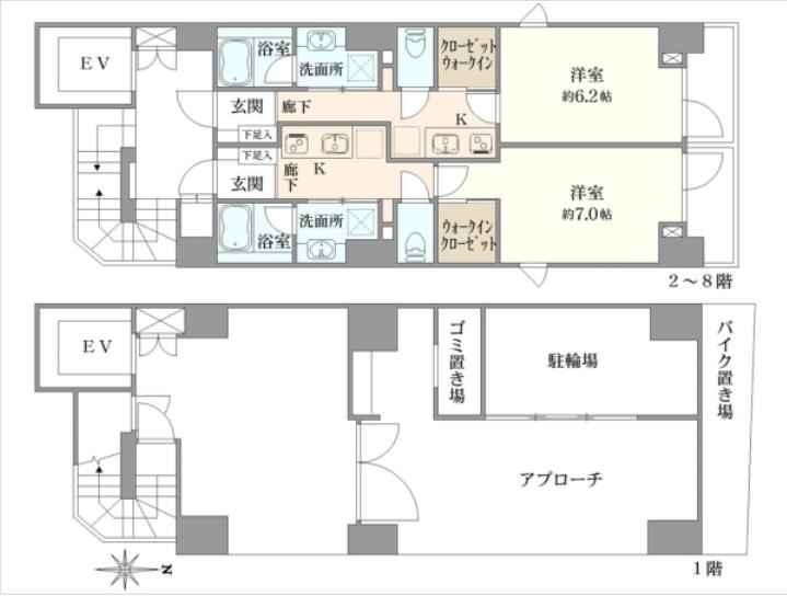 东京一栋投资住宅楼