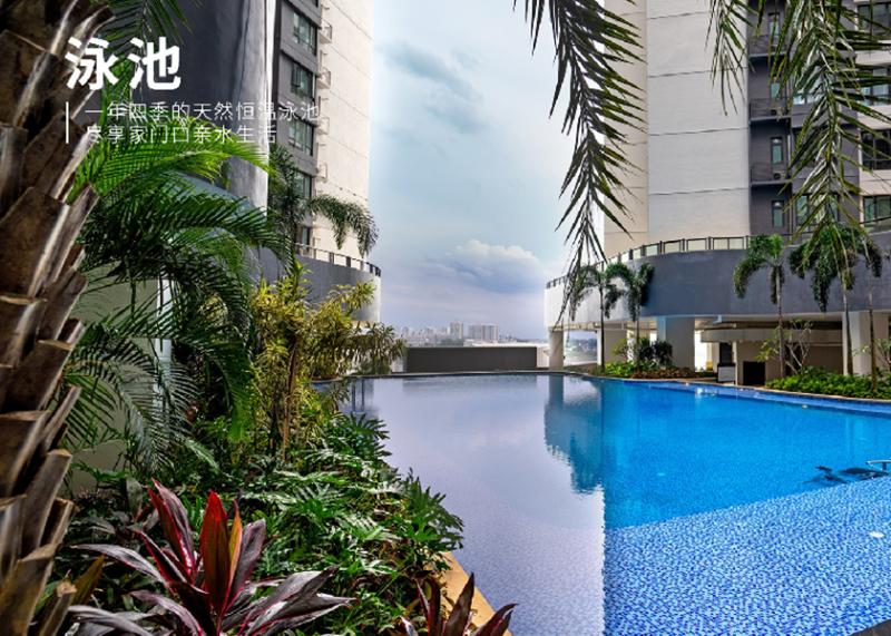 马来西亚新山国际城 咫尺新加坡,一桥之隔坐拥新马双城生活!,编号43367