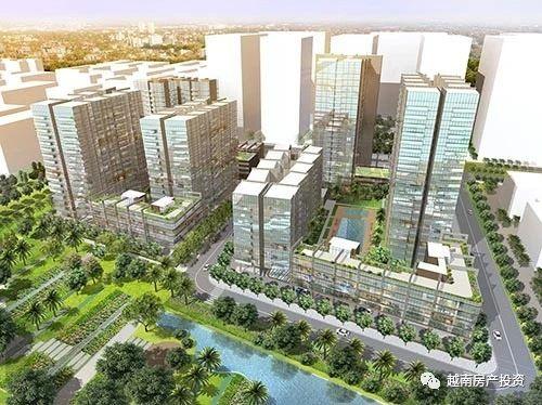 The River Thu Thiem胡志明2郡核心项目
