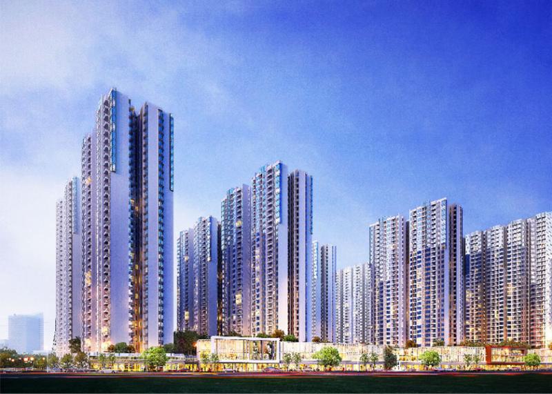 柬埔寨金边中心城 品牌房企 金边56万方国际大城