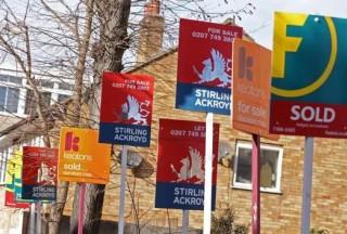 【英国房屋中介税】未来三个月英国房屋销售数量将下降60%