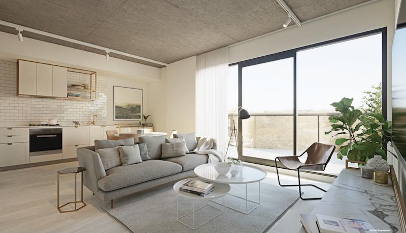 墨尔本富人区全新两房公寓带车位不到60万澳币!可省印花税!
