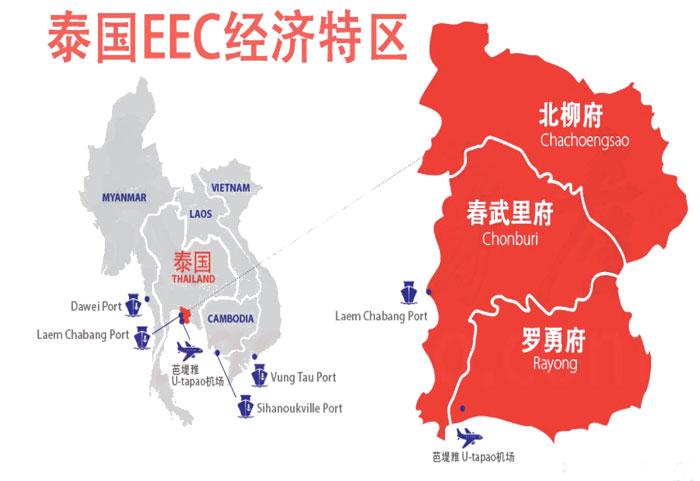 泰国EEC经济发展战略