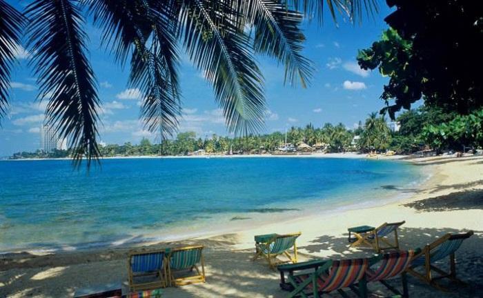 泰国海滩又称帕塔亚海滩