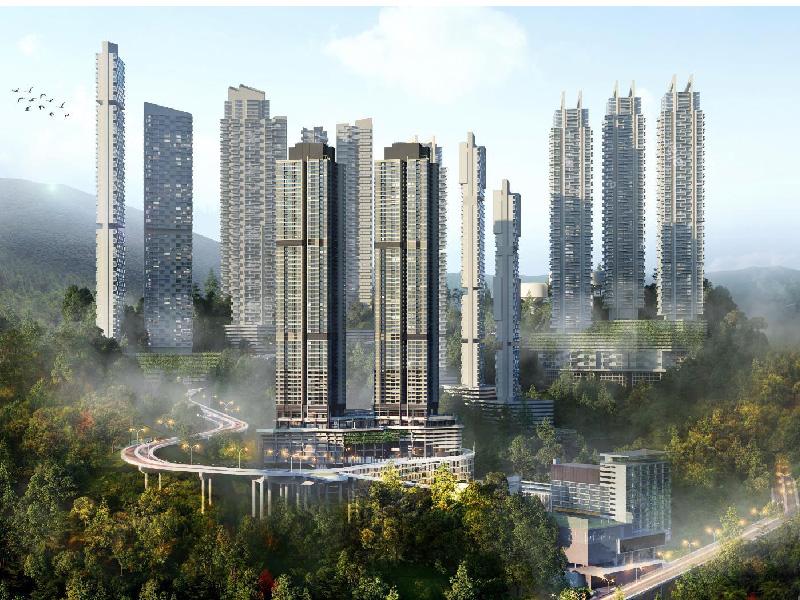 吉隆坡云顶半山:丽阳云尚云顶,低总价82万起,精装拎包入住