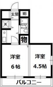 东京都北区 徒步12分,编号43807