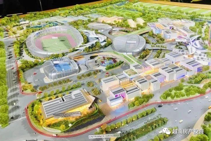 胡志明Saigon Sports City智能一体化小镇
