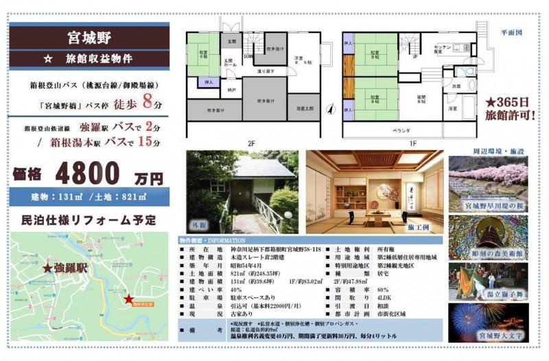 神奈川県★旅館物件