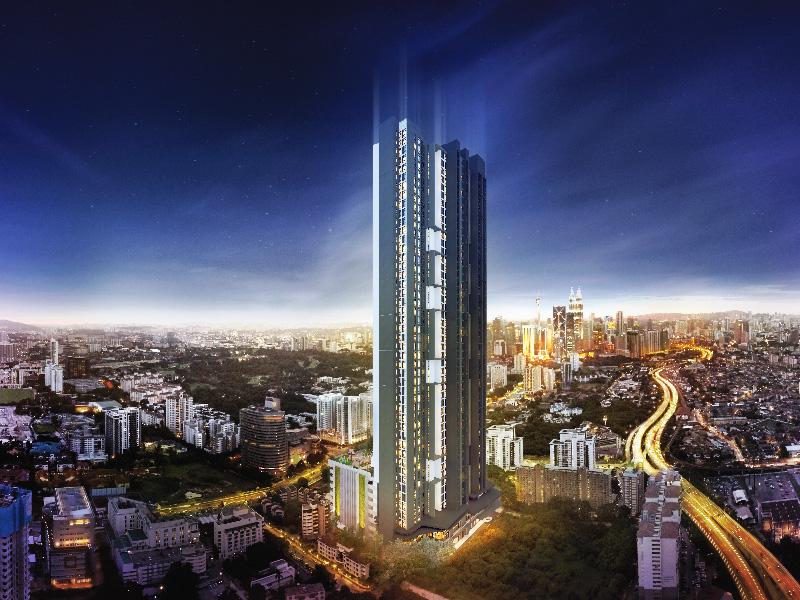 吉隆坡使馆区中铁使馆新城,央企中铁呈现,总价155万元买两房
