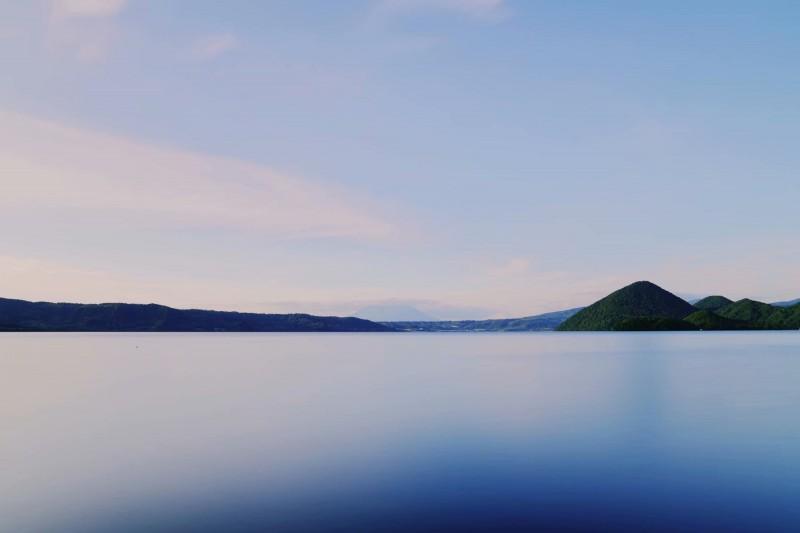 洞爷湖温泉乡 3290平米湖景土地 出售