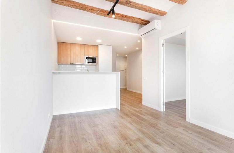 西班牙房产:巴塞罗那老城区博盖利亚市场旁两居室
