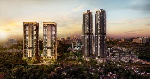 马来西亚吉隆坡富人区索拉斯花园公寓