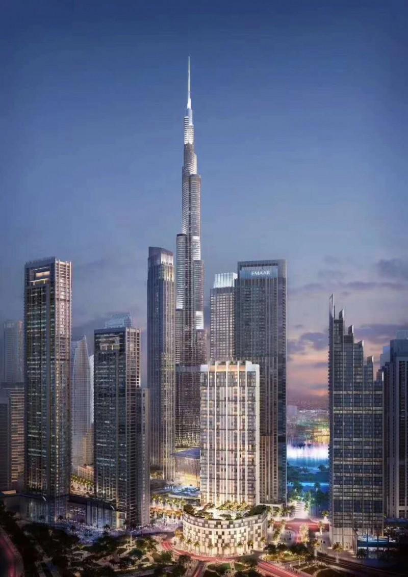迪拜市中心 世界最高塔区域 小户型公寓 Burj Crown
