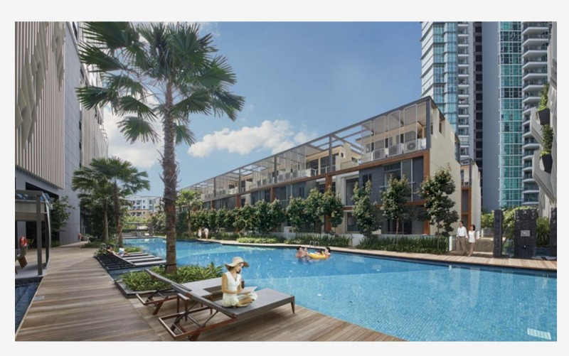 外国人可以买的新加坡有地别墅 精装修 现房 随时可入住