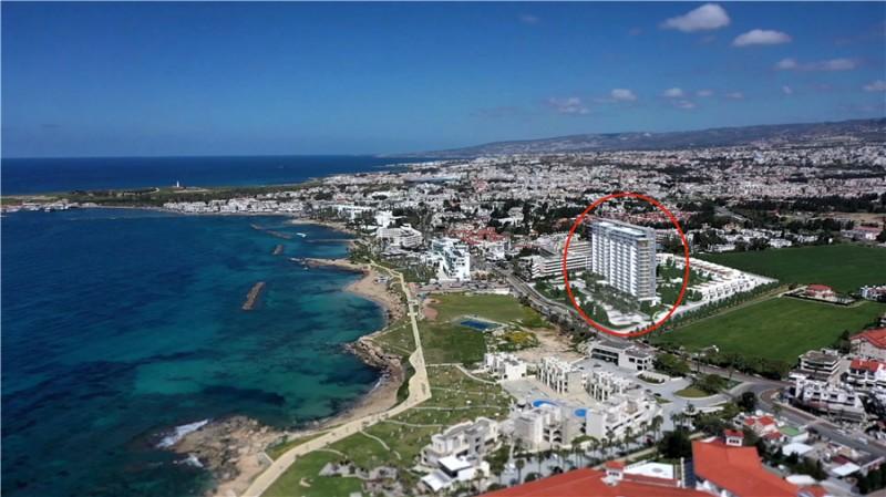 塞浦路斯帕福斯SOHO公寓 海景高层 200万欧起