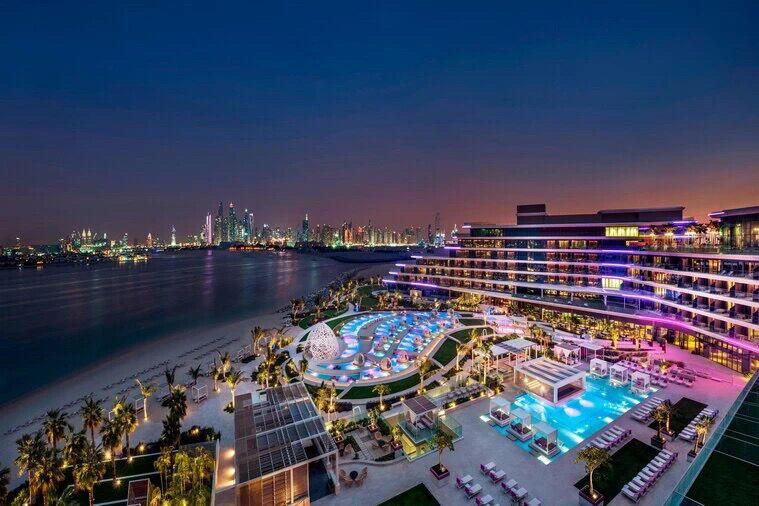 迪拜棕榈岛 豪华海景房 W Residence