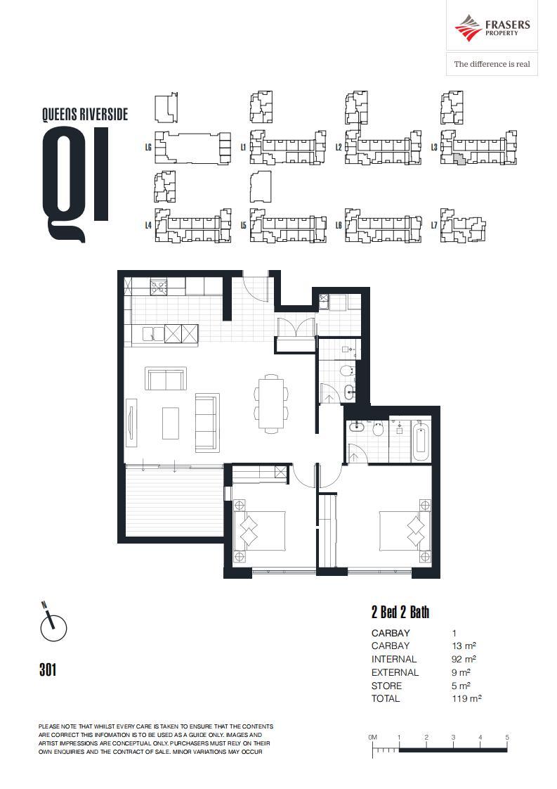 【海阁置业】澳洲临水现房公寓Queens Riverside