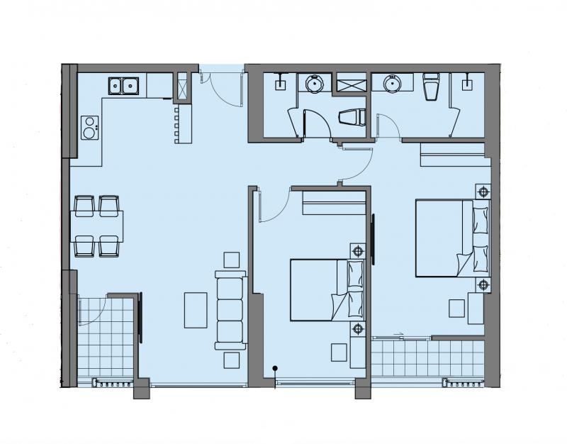 【海阁置业】越南稀缺公寓-MIPECRubik360