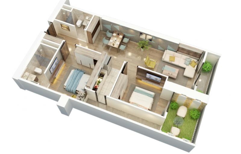【海阁置业】越南河内CBD公寓BID Residence