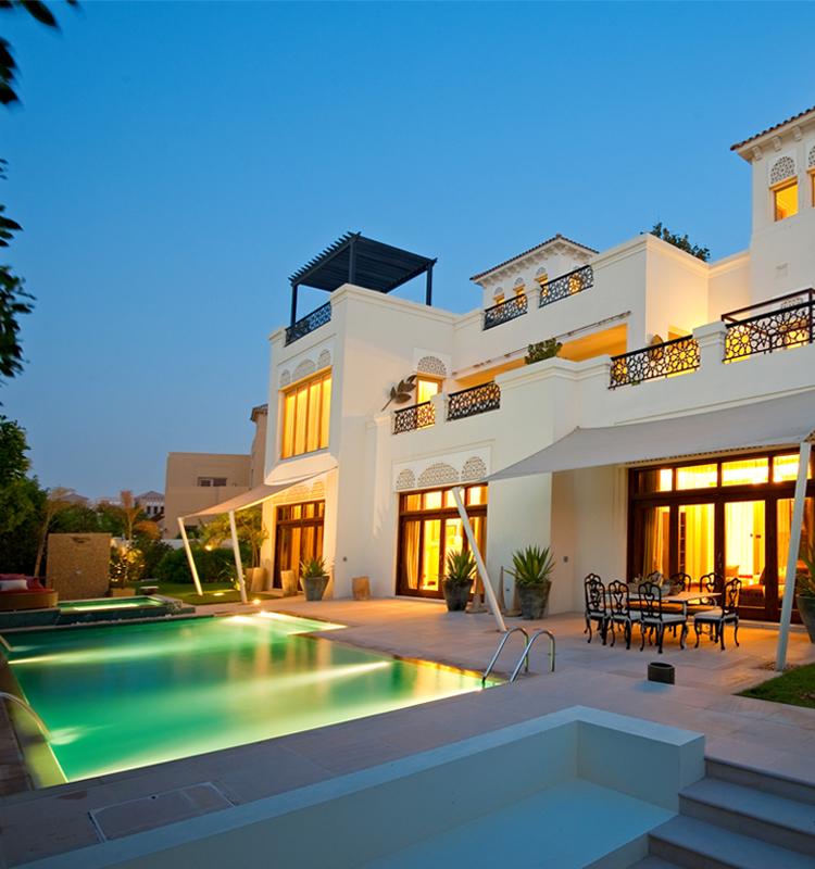 迪拜房产:迪拜土豪住宅区,私密别墅社区 Al Barari