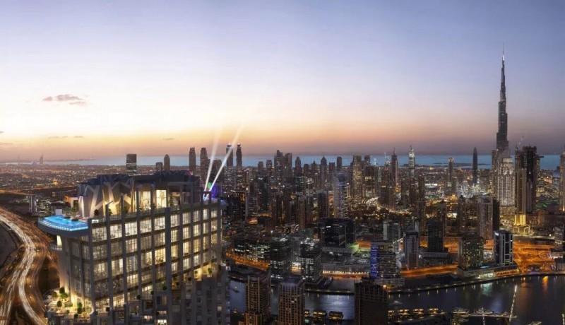 迪拜市中心准现房,五星级酒店公寓,SLS Residence