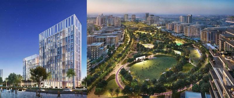 迪拜房产:迪拜山庄,地铁旁小户型公寓 Collective