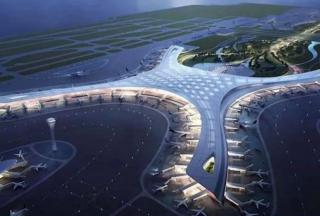 洪森视察金边新机场,已完工30%
