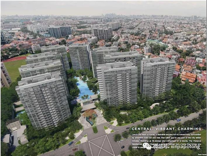 新加坡高文区大型项目,悦湖苑1房只需70.6万起