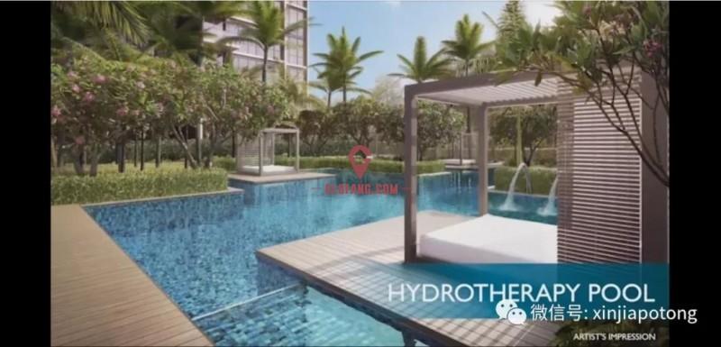 新加坡东部淡滨尼住宅区,荟景嘉园1房67.3万起